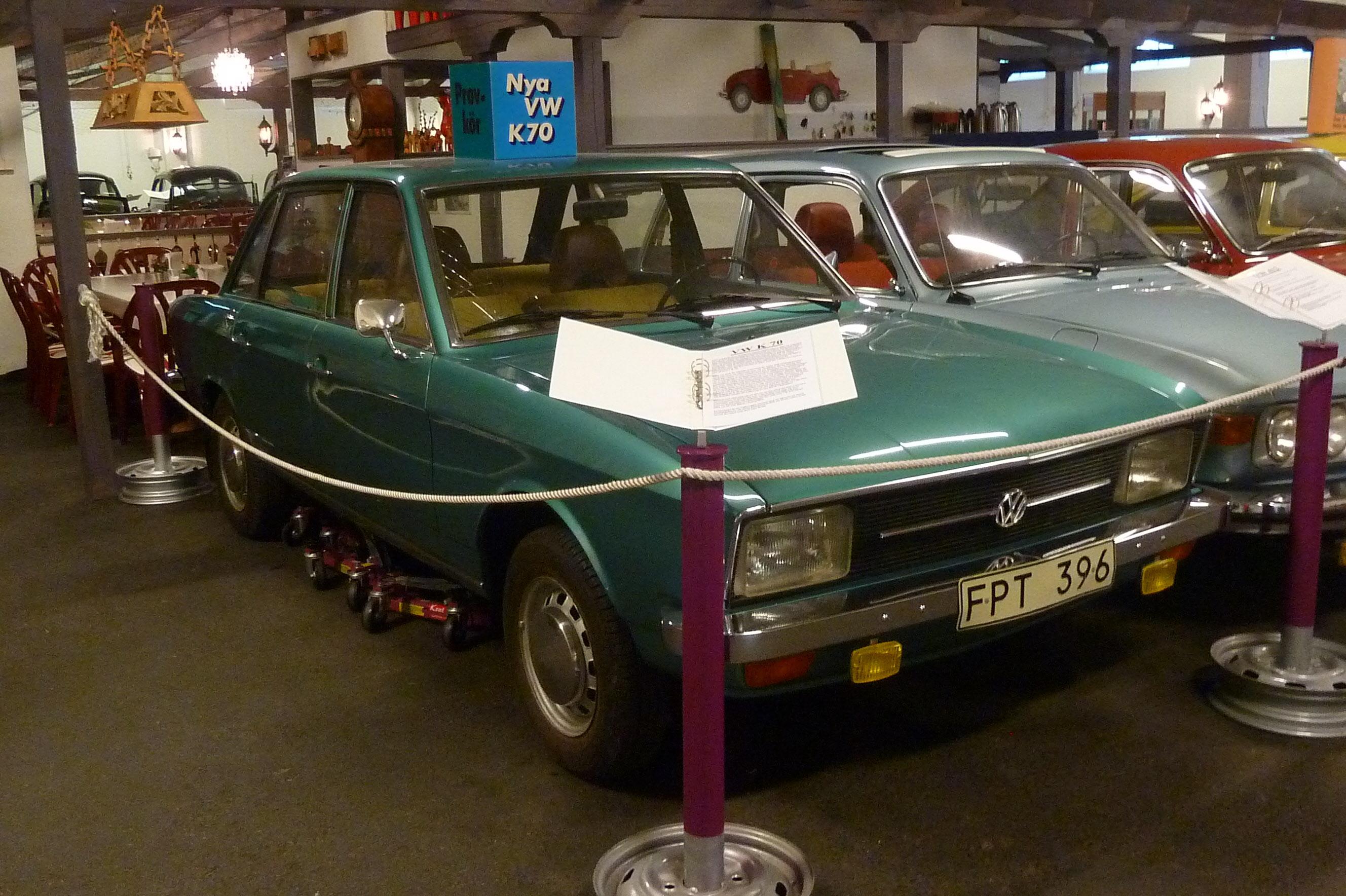 En K70 en annorlunda VW.