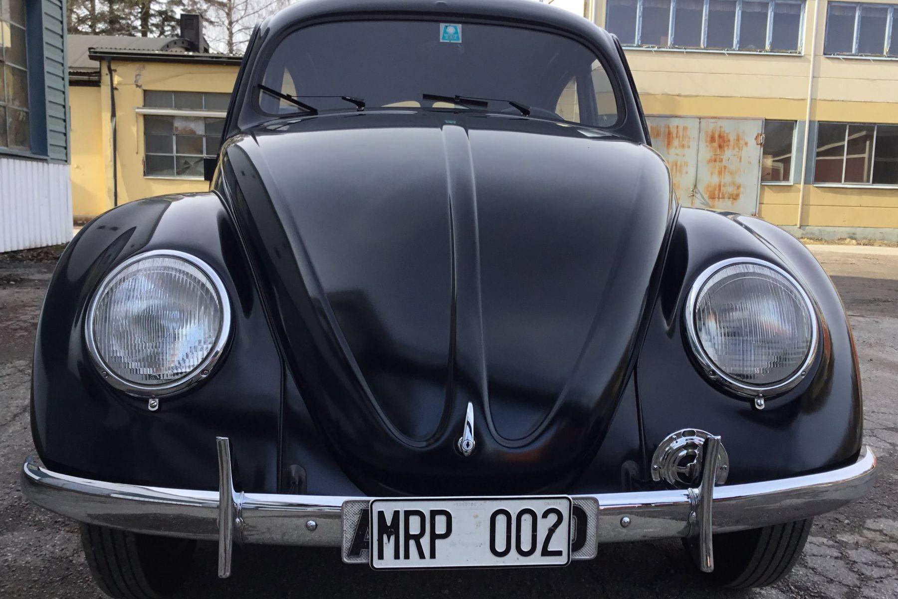 DEt är inte alltid det mest iögonfallande objektet som är mest värderat. Denna VW export från 1948 är värderad till ca 1,5 miljon.
