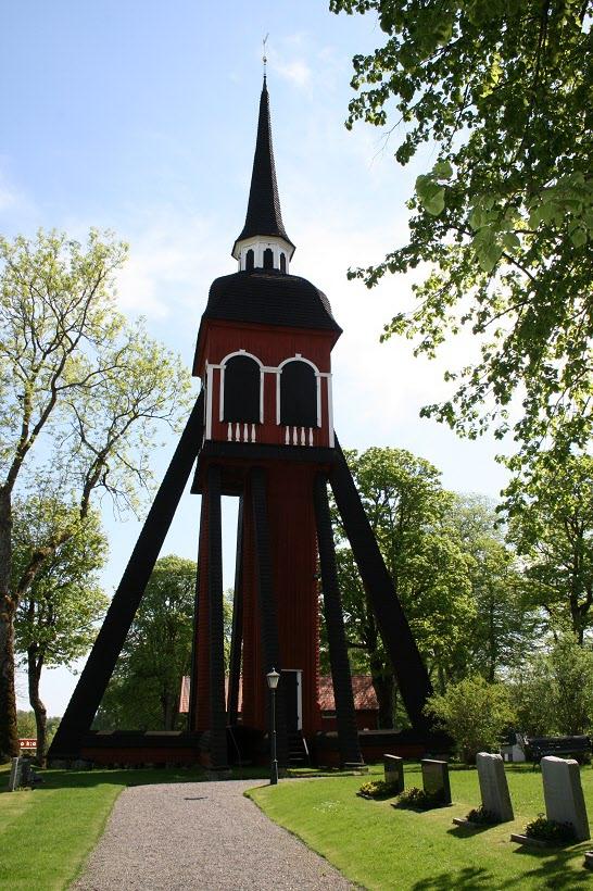 Habo kyrka klockstapeln