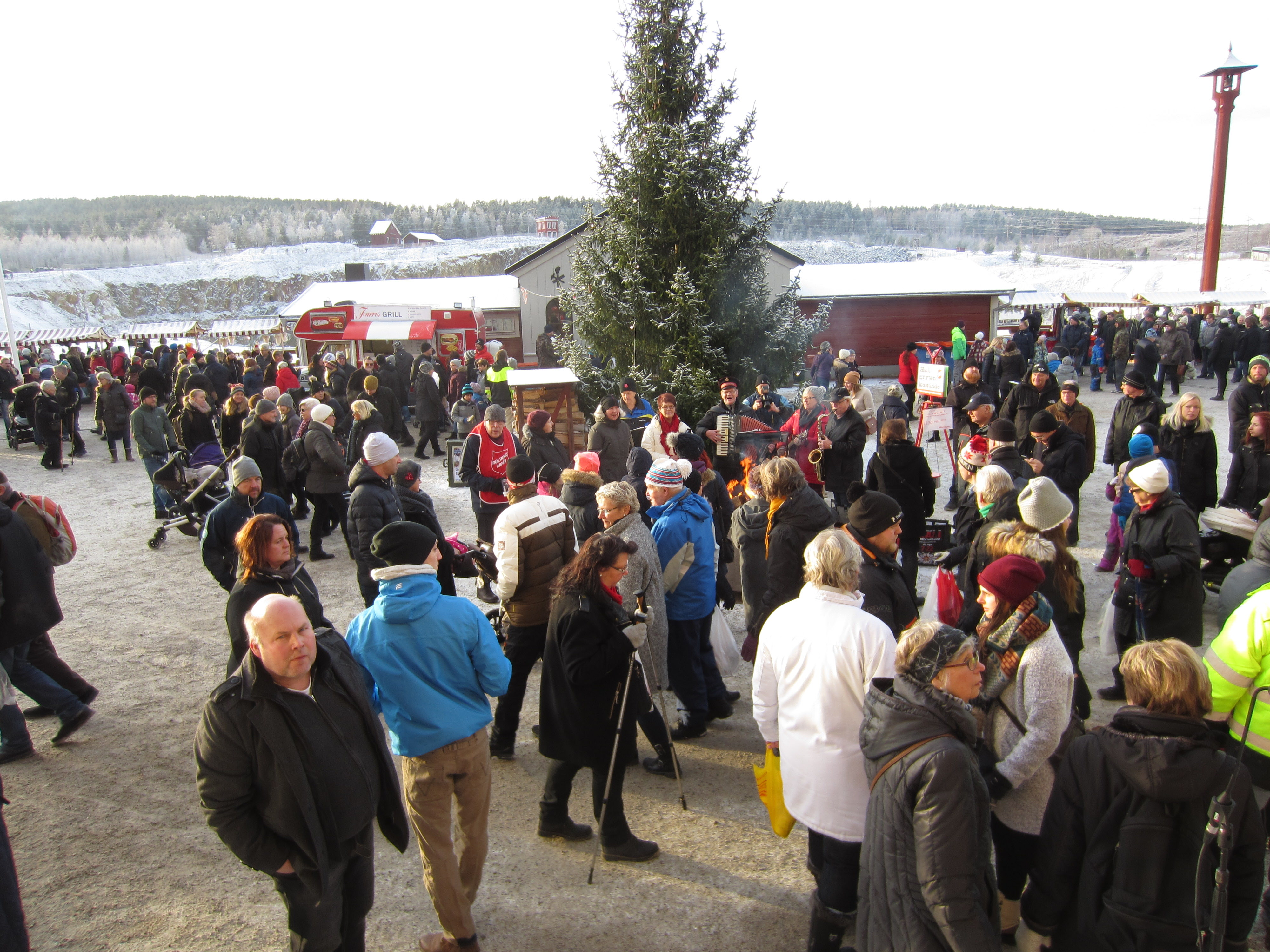 Julmarknad Falun 4 dec 2016